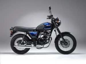 Bullit Hunt 125 Black Blue