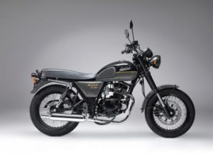 Bullit Hunt 125S black or